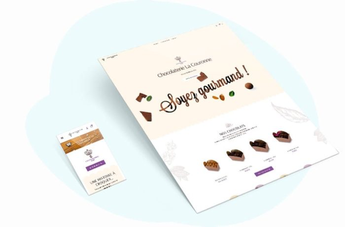 site web pau chocolat