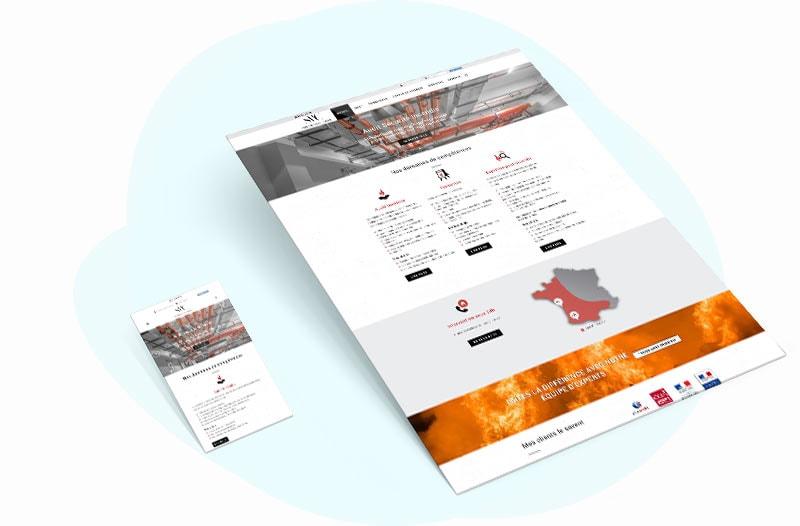 site web pau incendie
